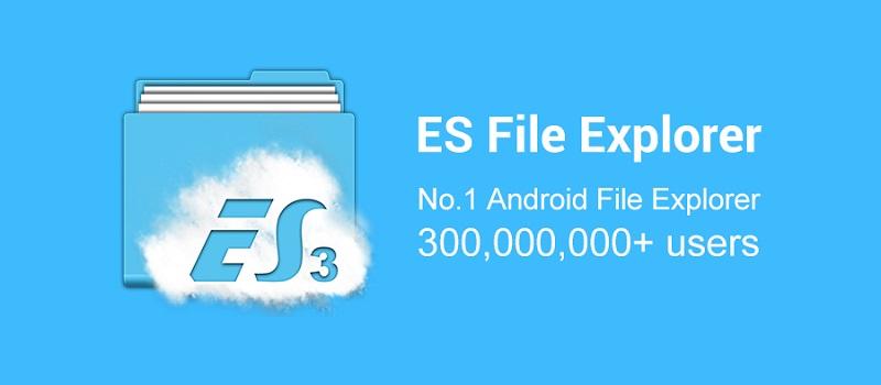 ES file explorer APK Imge