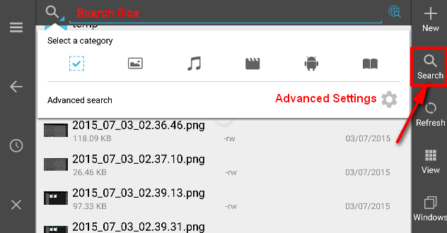 es file explorer chromecast Image